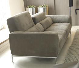 Kafka leather sofa