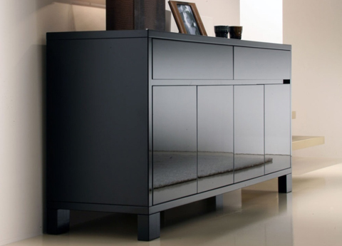 Lucido gloss lacquer sideboard from Casabella Furniture