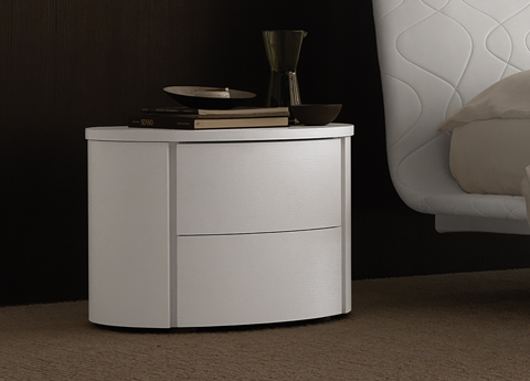 Europeo Curve Bedside Cabinet