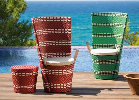 Iscpalli garden chairs