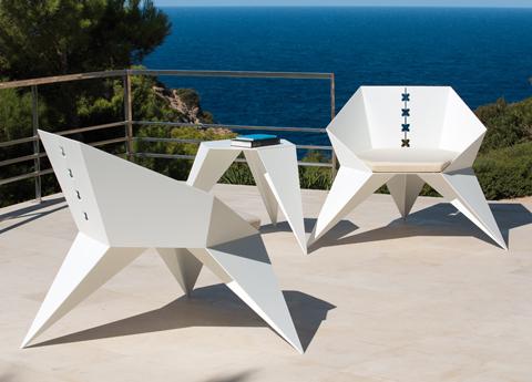 Pinata garden chairs