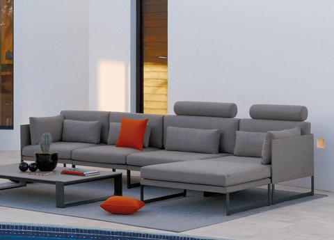 Manutti Squat Garden Sofa
