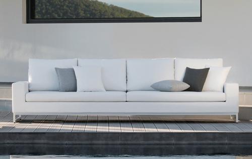 Manutti Zendo Sofa In Nautic Leather