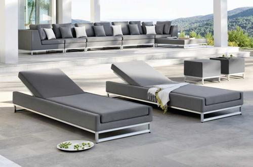 The manutti zendo collection still stunning go modern for Sofa tela nautica