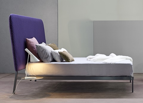 Contrast bed from Bonaldo