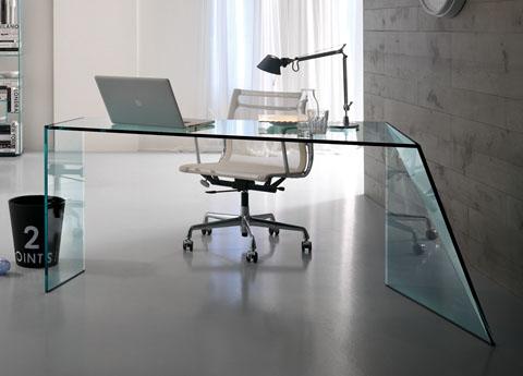 Tonelli Penrose Glass Desk