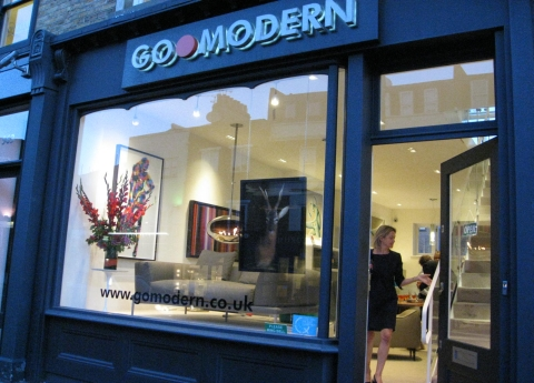 Go Modern on the Kings Road, London