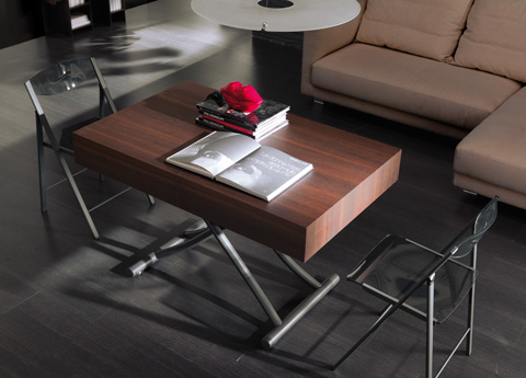 Ozzio Box Transformable Table