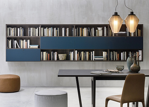 Novamobili Wall Unit/Bookcase 04