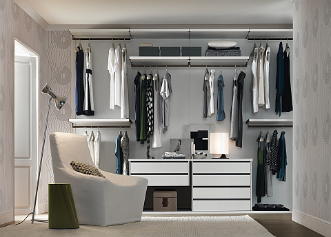 Jesse Walk-in Wardrobe