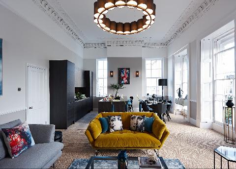 Georgian apartment, Cheltenham