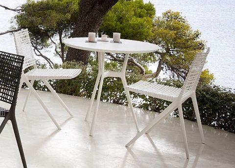 Tribu Branch round bistro table