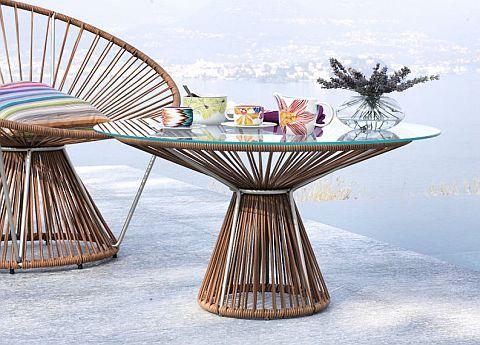 Missoni Home Cordula garden coffee table