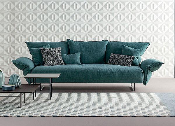 Bonaldo Madame C Sofa with removable covers/easy clean fabrics
