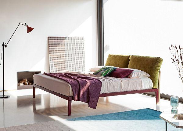 Bonaldo Moglie e Marito Bed with removable covers/easy clean fabrics