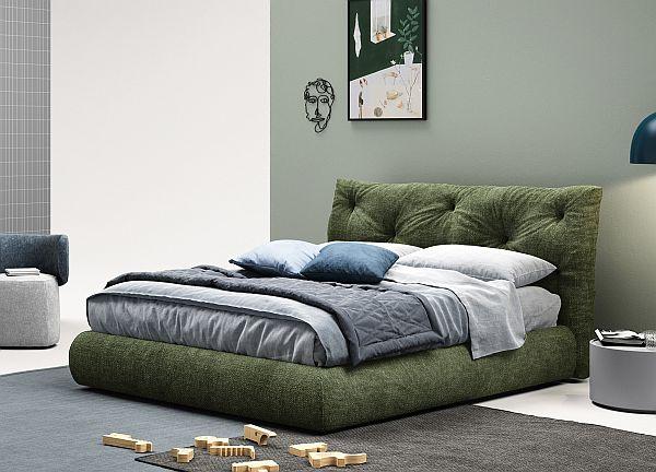 Novamobili's Modo Bed / easy clean fabrics