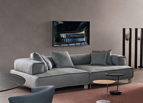 Japandi_Bonaldo tetra sofa