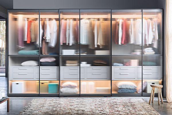Japandi_Layer sliding door wardrobe