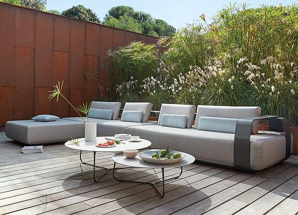 Japandi_Kumo garden corner sofa