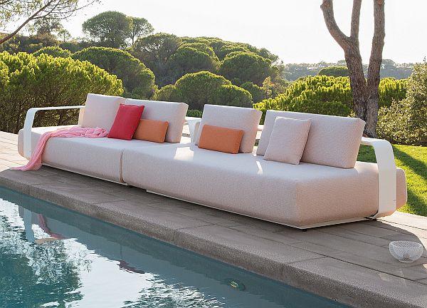 Japandi_Kumo large garden sofa