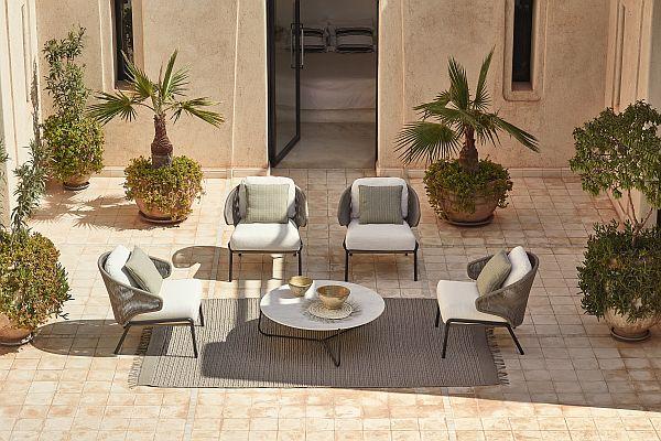 Manutti Radius outdoor furniture