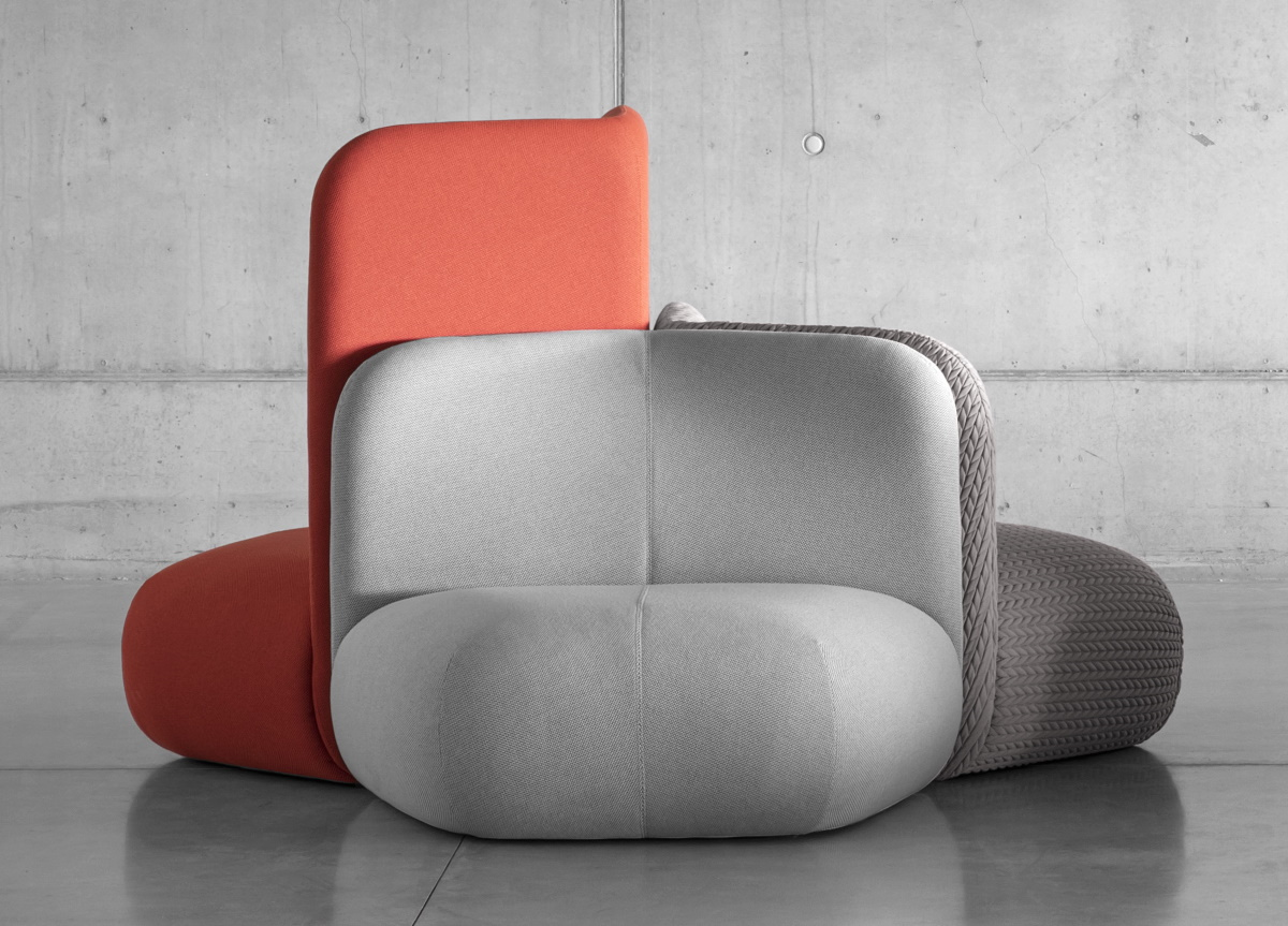 Botera Armchairs by E-ggs