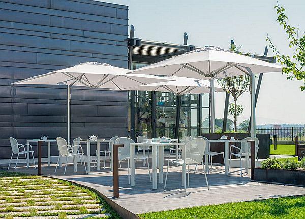 Outdoor Office - Emu Shade Pro Parasol