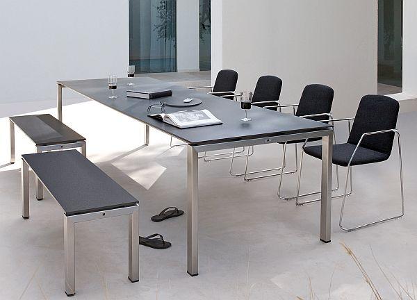 Outdoor Office -Manutti Trento Garden table