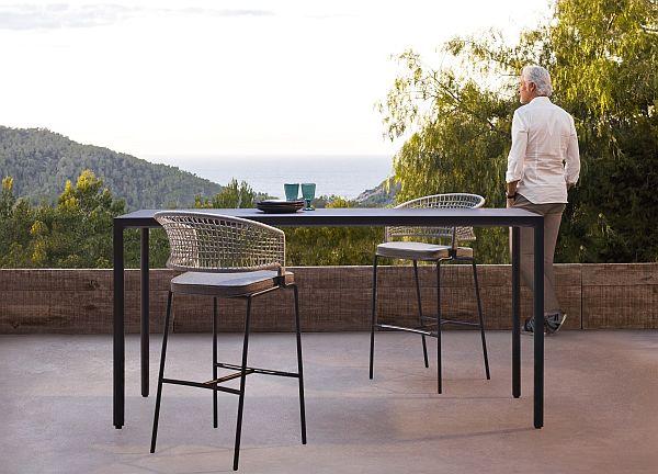 Tribu Illu Bar table - Outdoor Ofice
