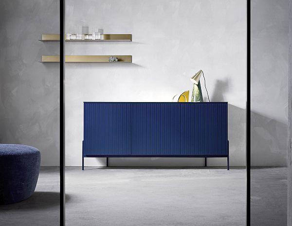 Colour blocking - Novamobili belt sideboard