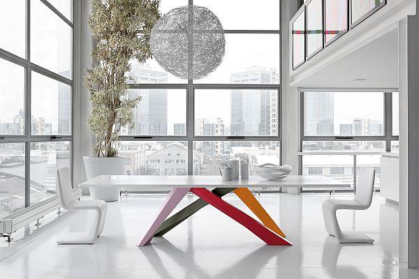 Colour Blocking - Bonaldo's Big Table