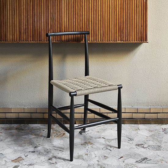 Miniforms Pelleossa Dining Chair with Straw Seat
