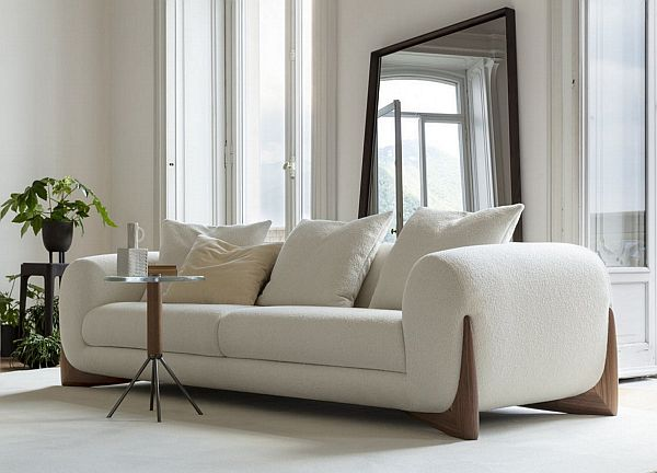 Porada Softbay Sofa - Modern Rustic