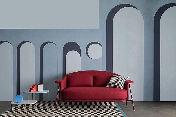 Colour Blocking Saba Italia Kepi sofa