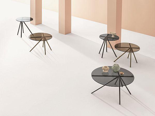 Salone del Mobile Ray coffee tables by Botempi Casa