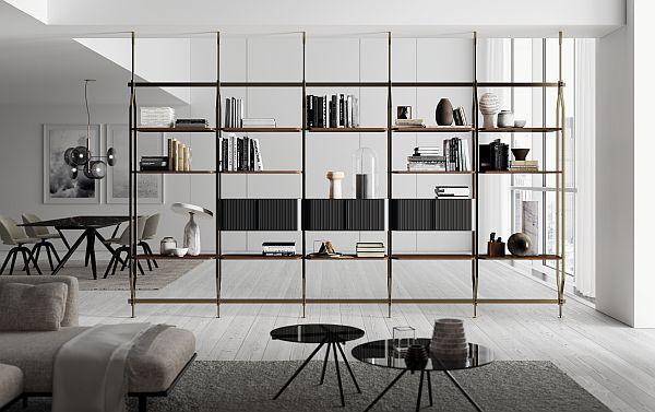 Charlotte bookcase