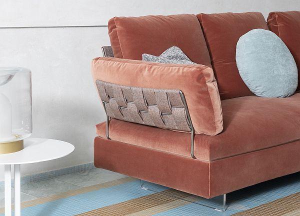 Saba Limes sofa - detail
