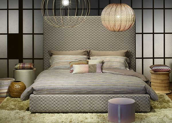 Luxury Beds - Missoni Home Screen High Bed