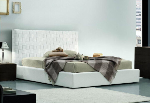 Plait Alto Upholstered Bed - Luxury Beds