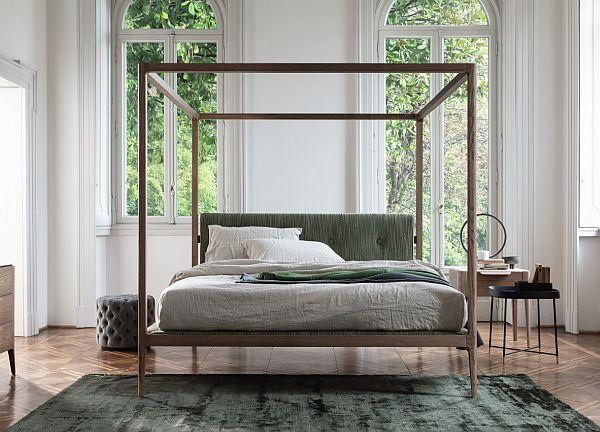 Luxury bed - Porada Ziggy Four Poster Bed