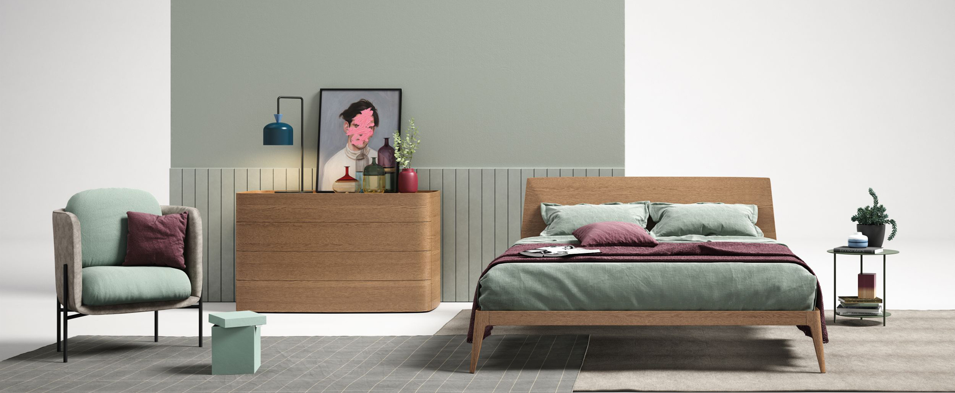 Contemporary Beds In Wood