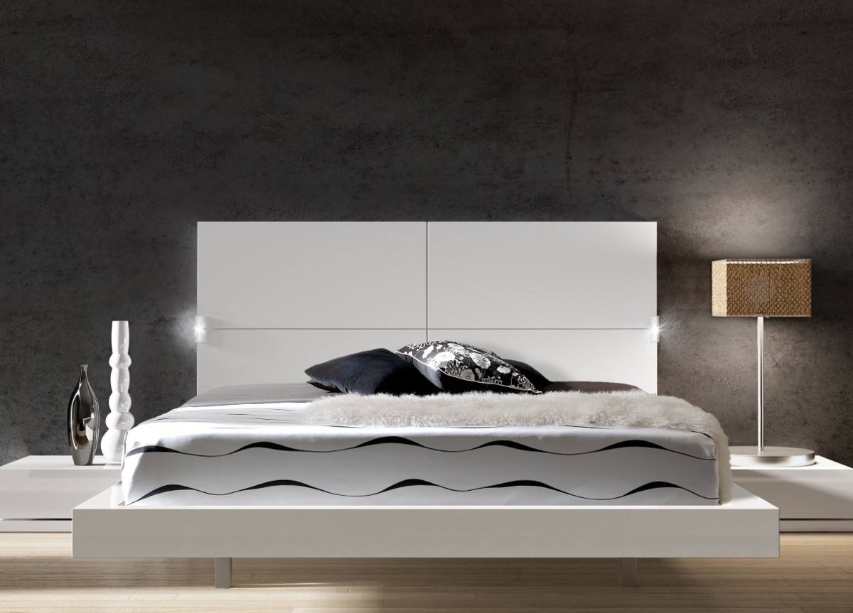 Picture of: Ambiente Contemporary Bed Contemporary Beds Modern Beds