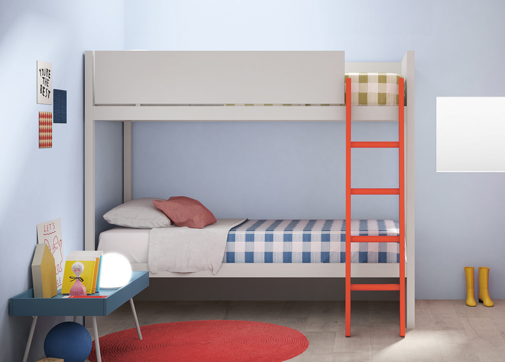 Camelot Bunk Bed Contemporary Bunk Beds At Go Modern Furniture
