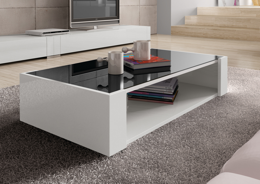 Carino Coffee Table With Storage Contemporary Coffee Tables At Go Modern London