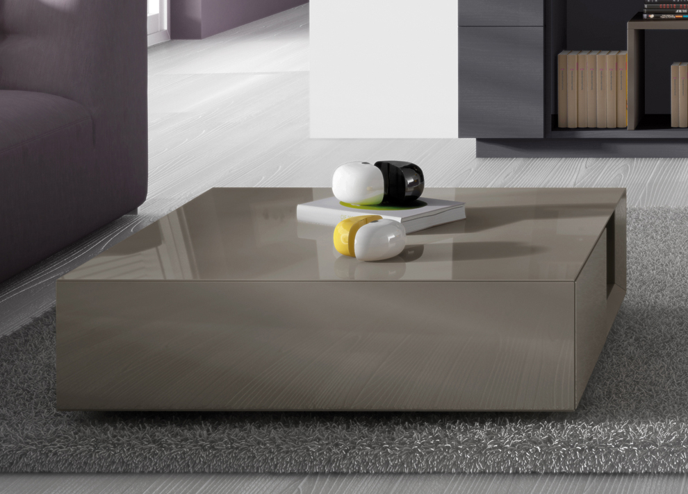 Carree Coffee Table With Storage Contemporary Coffee Tables At Go Modern London