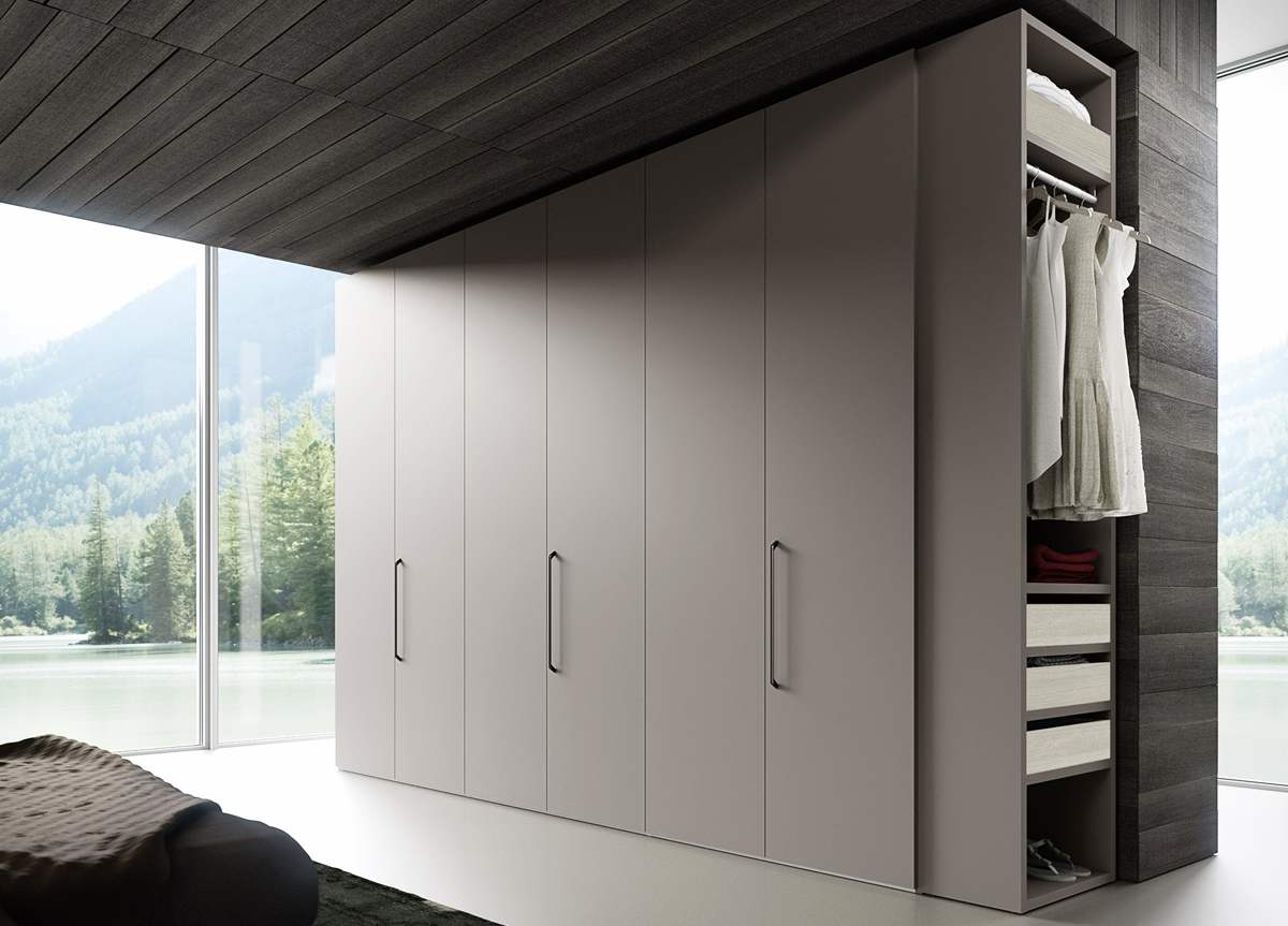 Liscio Bedroom Wardrobe   Contemporary Wardrobes At Go ...
