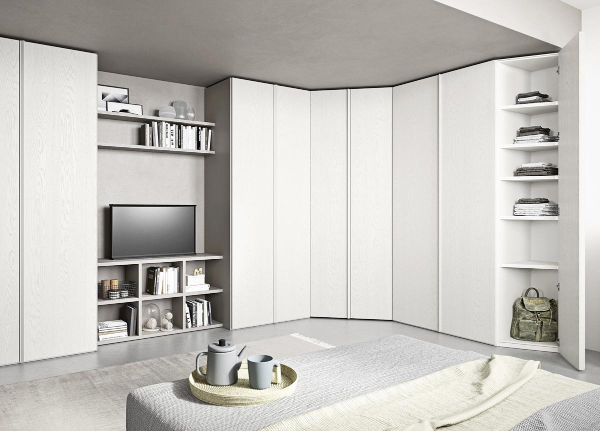 Go Modern Ltd > Wardrobes > Angolo Corner Wardrobe ...