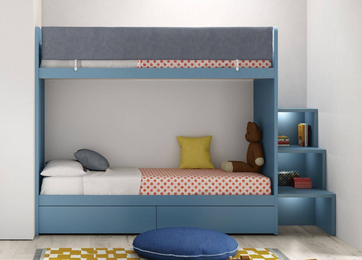 Battistella Ergo Bunk Bed Contemporary Bunk Beds From Italy