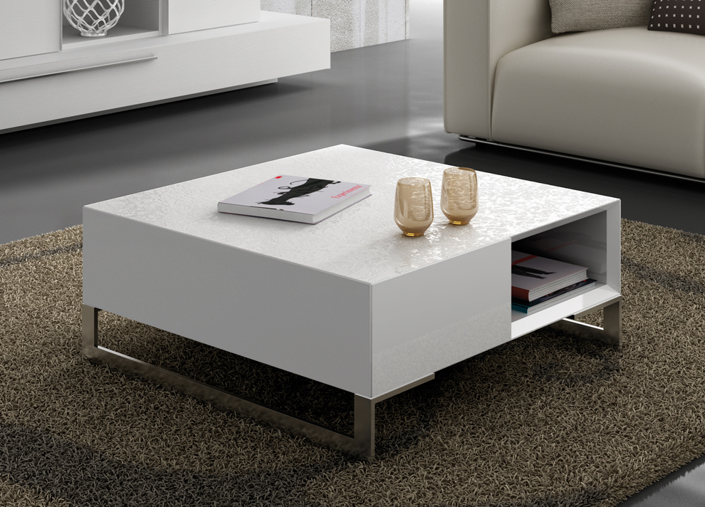 Estenso Coffee Table With Storage Contemporary Coffee Tables At Go Modern London