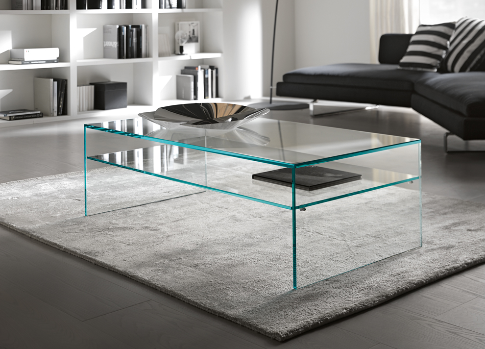 Fratina Glass Coffee Table Glass Coffee Tables By Tonelli Design